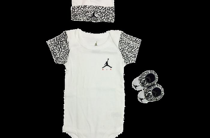 af3d0d2db665 Jordan Baby Clothes 3 piece Set Teal Jordan - Luvabye